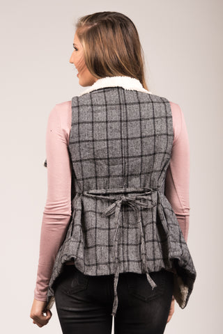 Timeless to Me Vest in Black