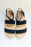 Dance in The Sunshine Sandals in Black