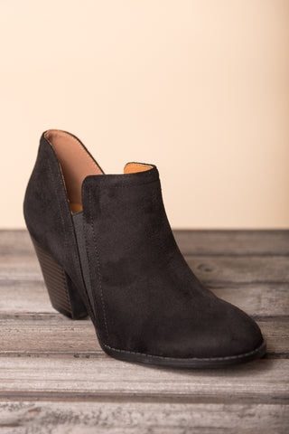 One Step Closer Booties in Black