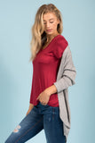 She's One of A Kind Cardigan in Heather Grey