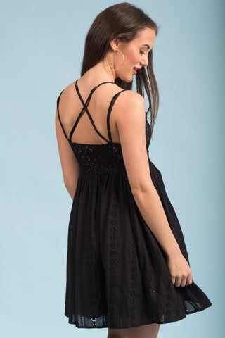 Dream Come True Dress in Black