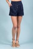 Ocean Eyes Shorts in Navy
