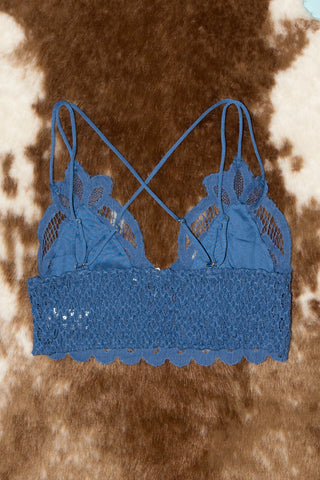 Fancy That Bralette in Blue