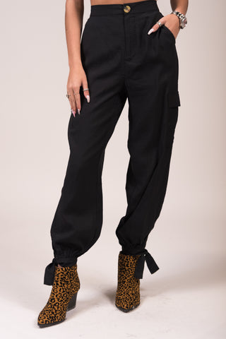 Now or Never Pants in Black