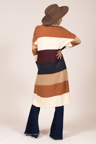 Falling For You Cardigan in Camel