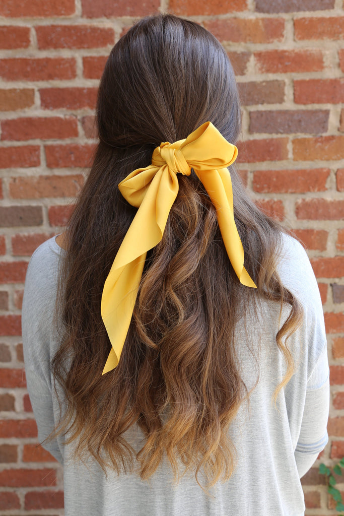 Meant To Be Scrunchie in Mustard