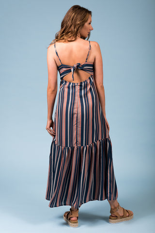 Summer Stripe Maxi Dress
