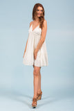 Meet Me In France Dress in Ivory