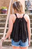 Sedona Tank in Black