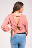 Desperado Top in Dusty Pink