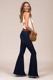 Favorite Flare Jeans in Dark Denim