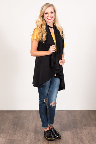 Charlotte Cardigan in Black