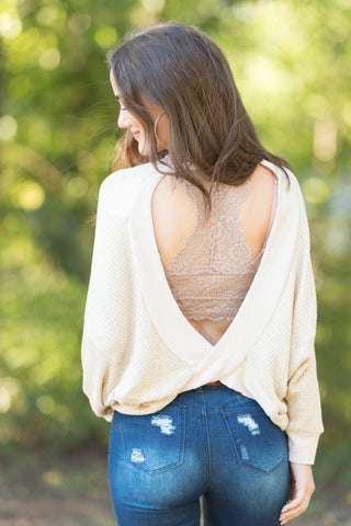 Back To You Top in Oatmeal