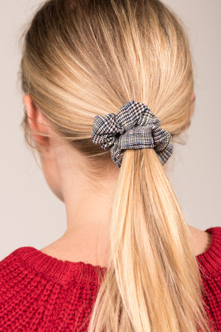 All Tied Up Scrunchie in Navy