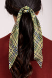 Clueless Hair Scarf in Olive