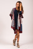 All My Favorites Kimono in Burgundy