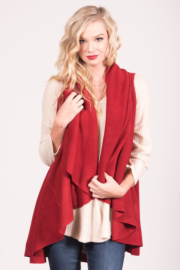 Charlotte Cardigan in Red