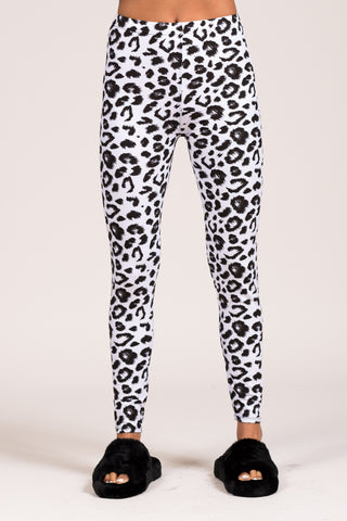 Catch Me If You Can Leggings in Black/White