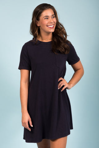 Living Fearless Dress in Navy