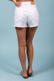 Summer Time Fine Shorts in White