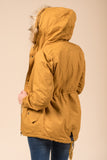Frosty Forest Jacket in Mustard