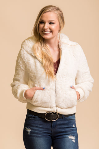 Snow Storm Jacket in Ivory