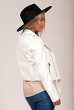 Davidson Biker Jacket in White
