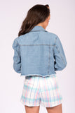 Lips are Movin' Denim Jacket