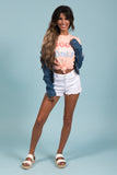 Teenage Dream Denim Jacket in Blue
