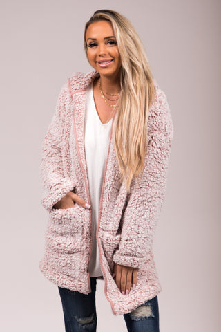 Once Upon A Dream Jacket in Mauve