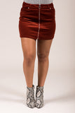Loveland Skirt in Rust