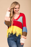 Over The Rainbow Sweater in Multi