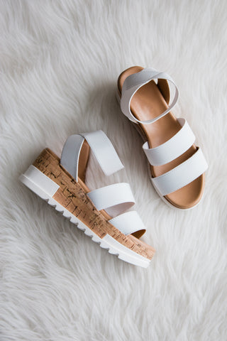 Only Mine Sandal in White