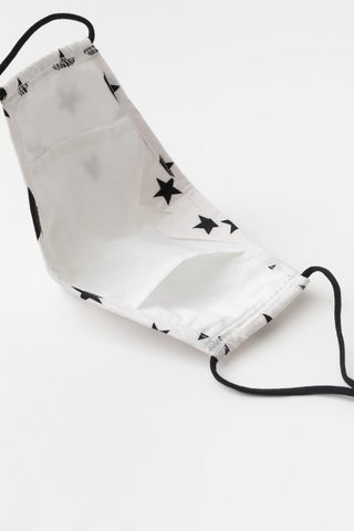 Face Mask - White Star