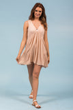 Ray of Light Dress in Peach
