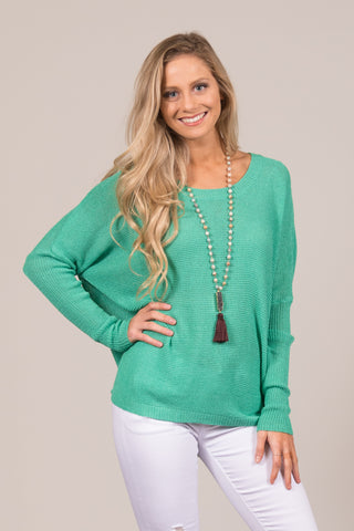 Easy Breezy Sweater in Green