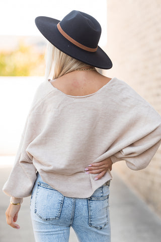 Everything I Wanted Sweater in Beige