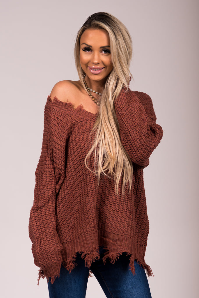 Baby It's Cold Outside Sweater in Camel