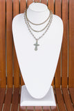 Chloe Necklace in Cross