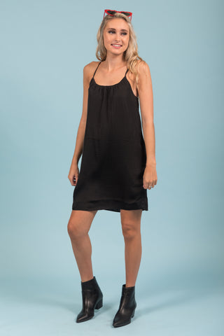 Stop and Stare Dress in Black