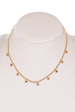 Myla Necklace in Worn Gold