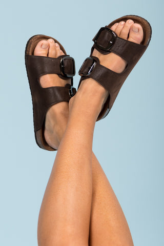 Choose Adventure Sandals in Brown