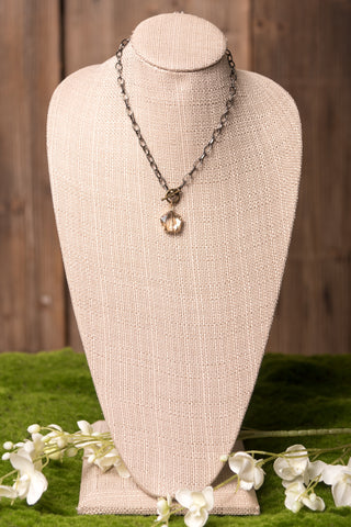 Addison Necklace in Dark