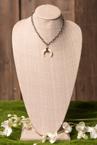 Ana Necklace in Crescent