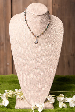 Adalyn Necklace in Jade
