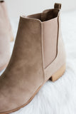 Be Like That Booties in Taupe