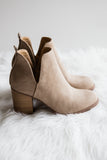 Wiley Way Booties in Taupe