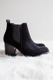 Toxic Love Booties in Black