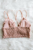Amazing Lace Bralette in Rose