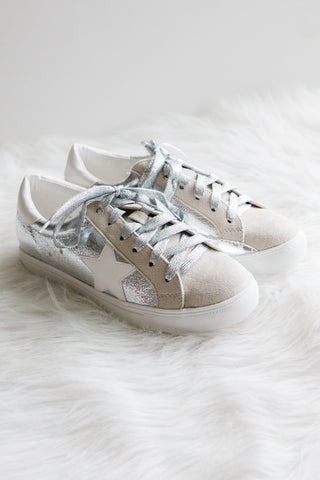 Stardust Sneakers in Silver